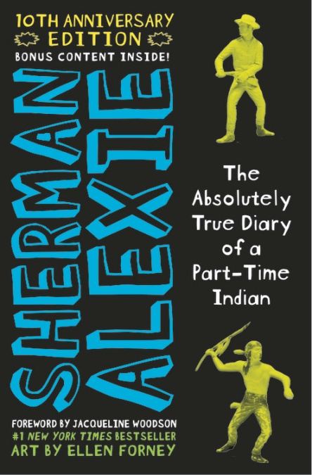Image result for the absolutely true diary of a part time indian