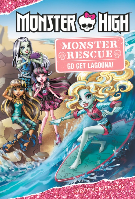 monster high monster rescue go get lagoona by misty von spooks
