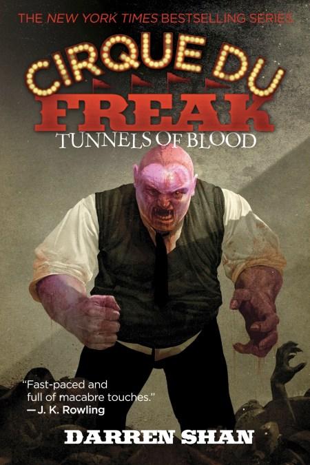 cirque du freak  Cirque Du Freak #3: Tunnels of Blood by Darren Shan   Little, Brown ...