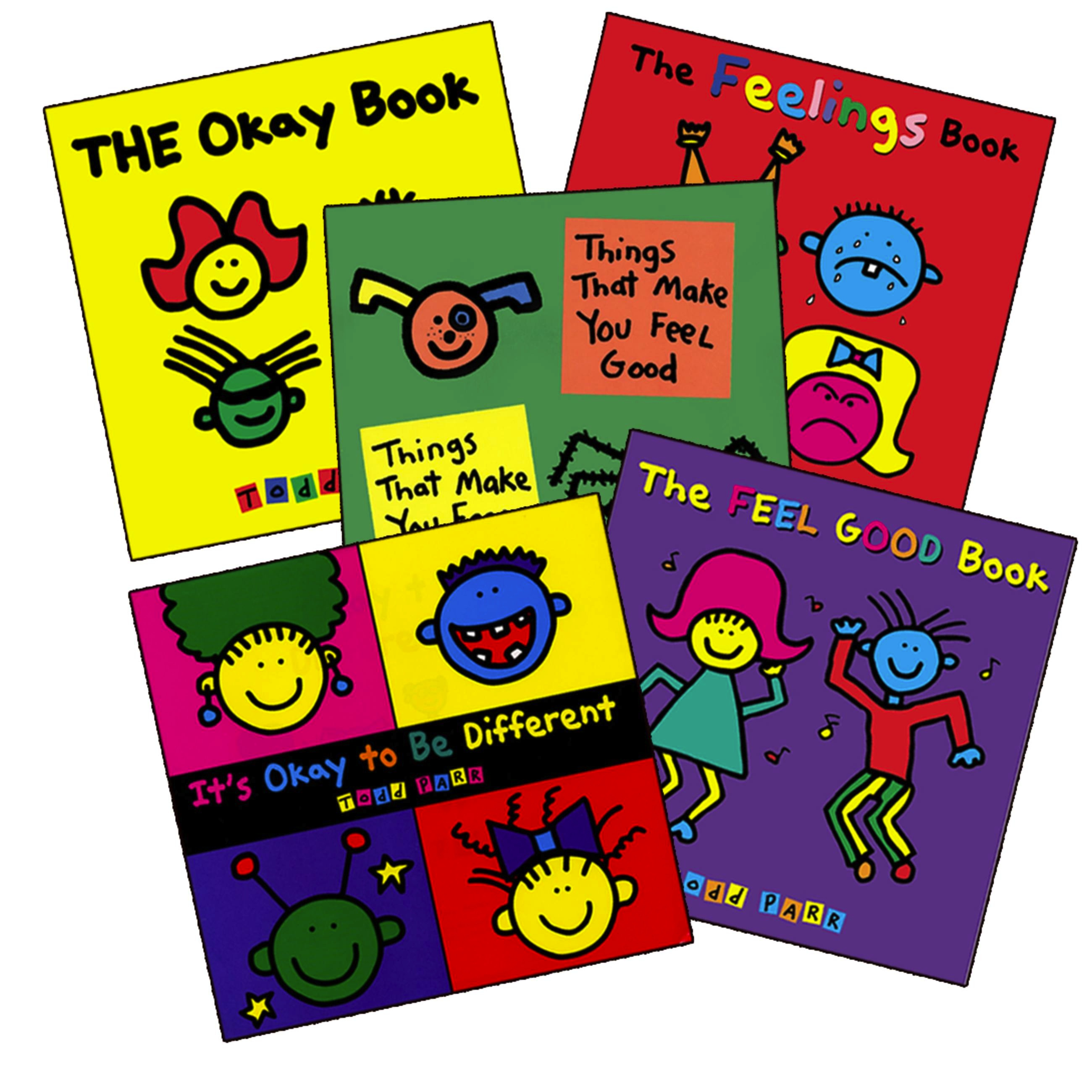 Todd Parr's Feelings Bundle by Todd Parr   Little, Brown