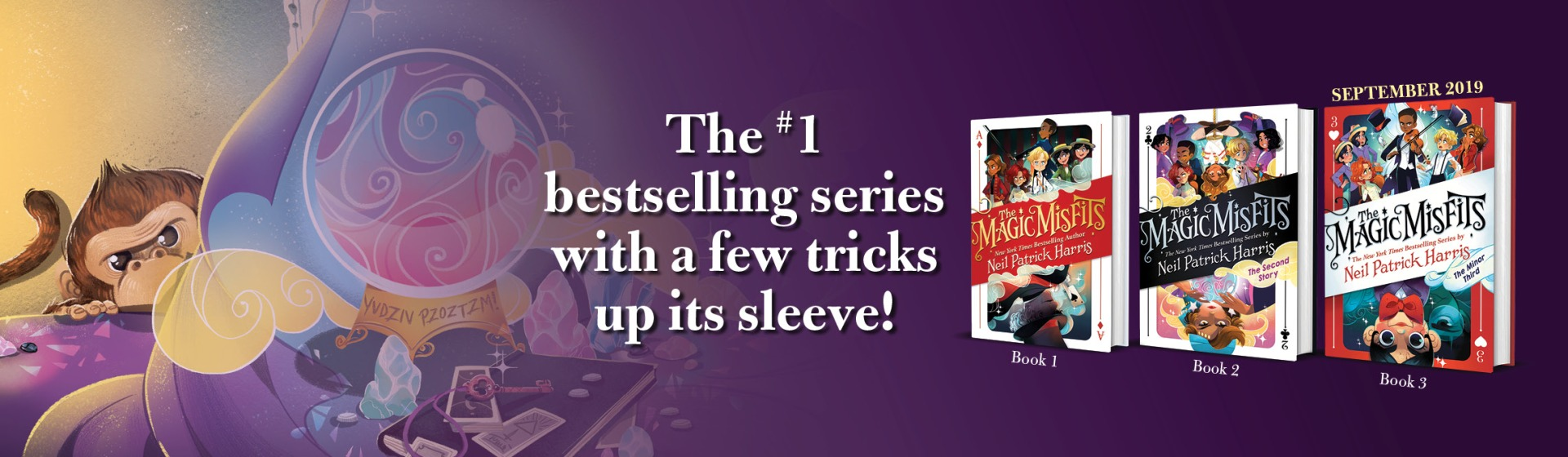 READ THE MAGIC MISFITS SERIES! | Little, Brown Books for