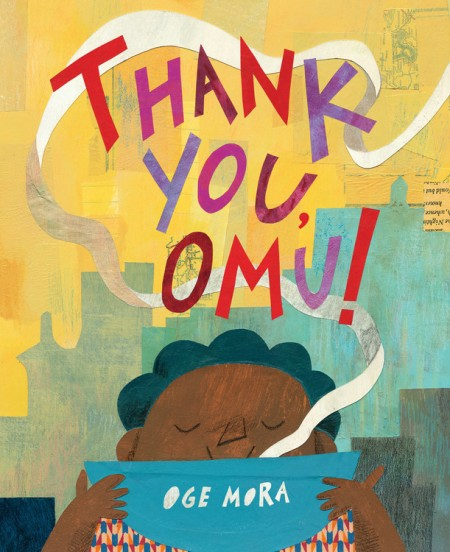 Cover art for the book entitled Thank you, Omu