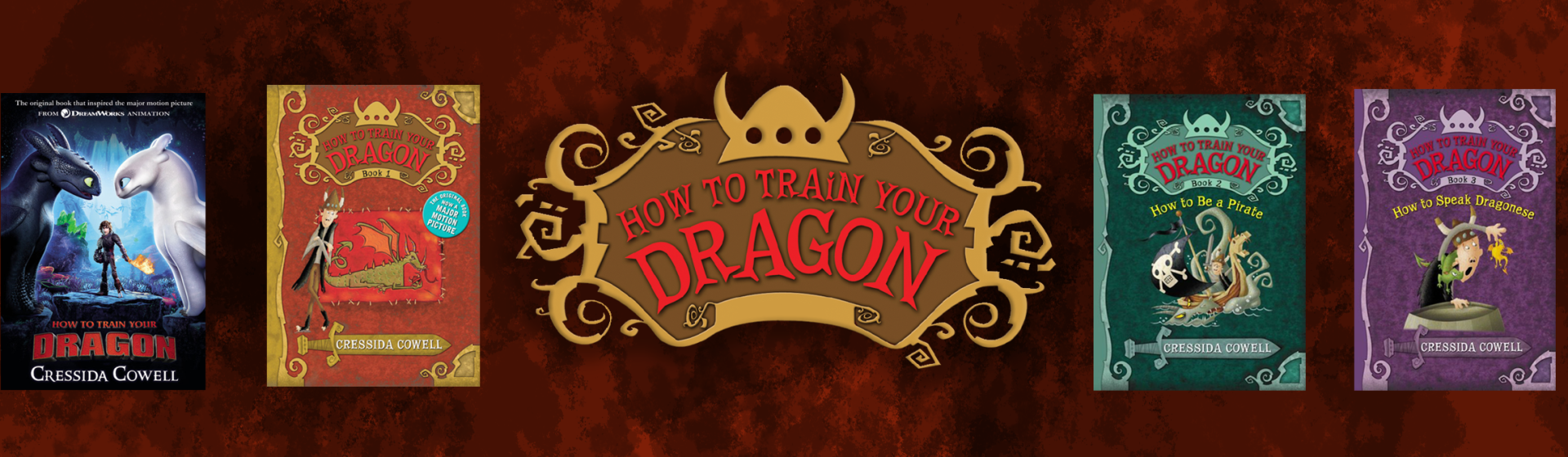 How To Train Your Dragon Series in Order | Cressida Cowell | Little