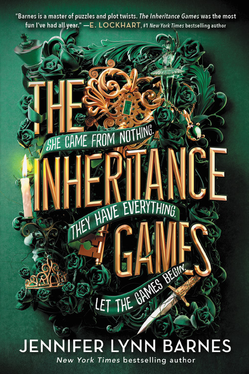 The Inheritance Games by Jennifer Lynn Barnes   Little, Brown Books for Young Readers